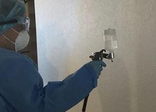 キッチン換気扇フード清掃